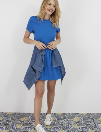 Robe bleue I.Code