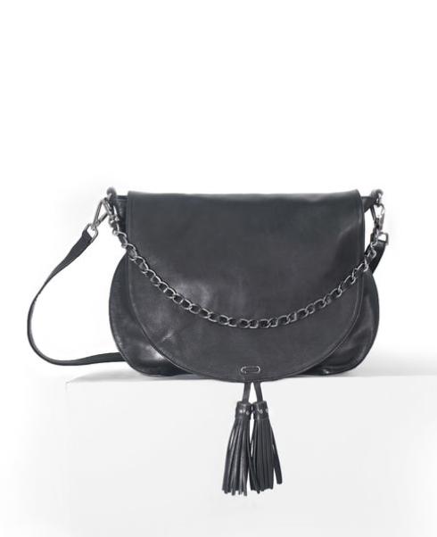 992ccc140f Besace cuir femme noir IKKS - Femmes/Accessoires - Lora