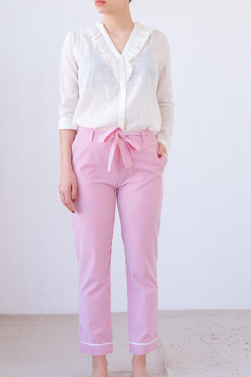 Pantalon Dali - rouge - MARFAA