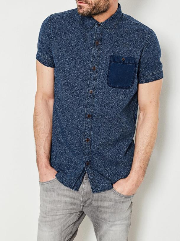 chemise denim sis 444