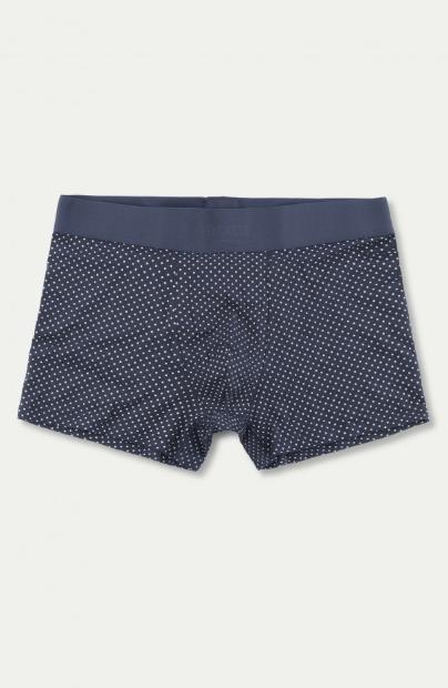 Boxer en coton élastique à motifs POIS