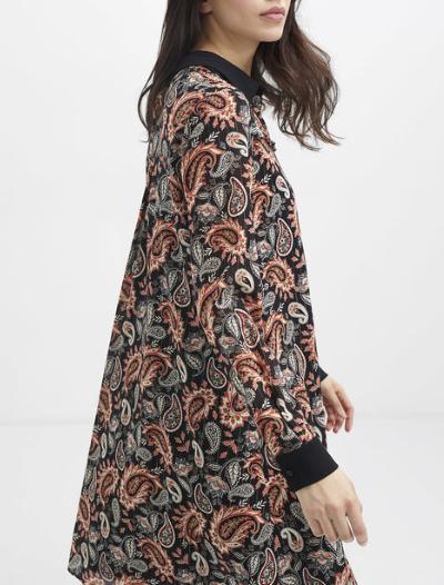 Robe Cachemire I Code Femmes Robe Jupe Combinaison Lora