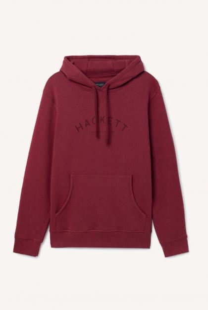 Sweatshirt à capuche en coton mélangé HACKETT