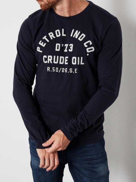 Tee shirt logo marine