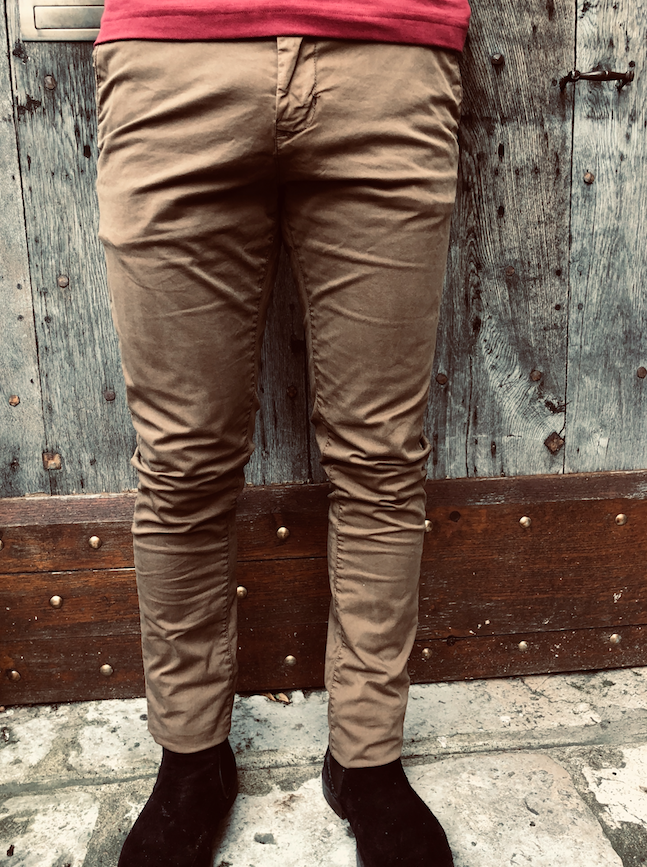 Chino camel homme Petrol Industries