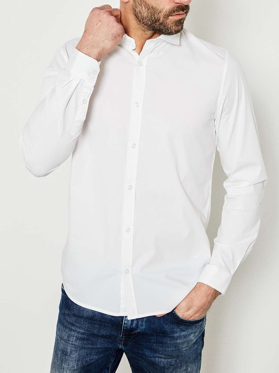 Chemise Blanche Petrol Industries
