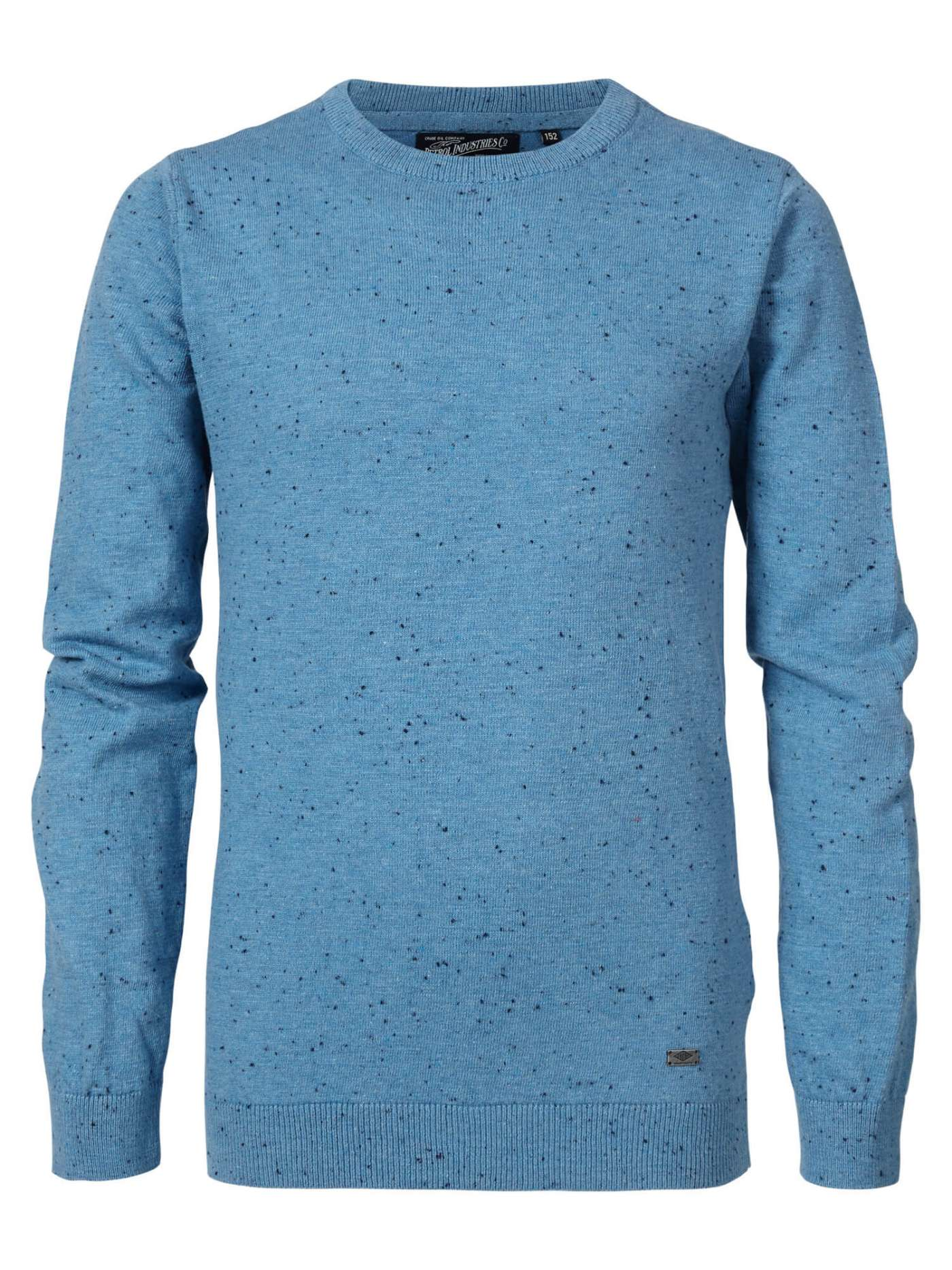 Pull col rond homme bleu Petrol Industries
