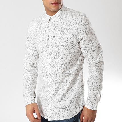 Chemise blanche à motifs Petrol Industries
