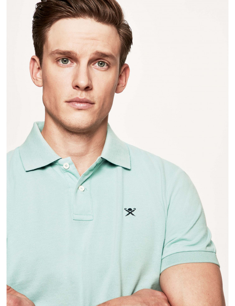 Polo vert d\'eau Hackett London