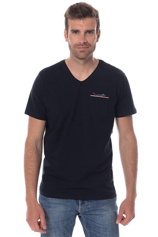 Tee shirt Bleu marine Sun Valley