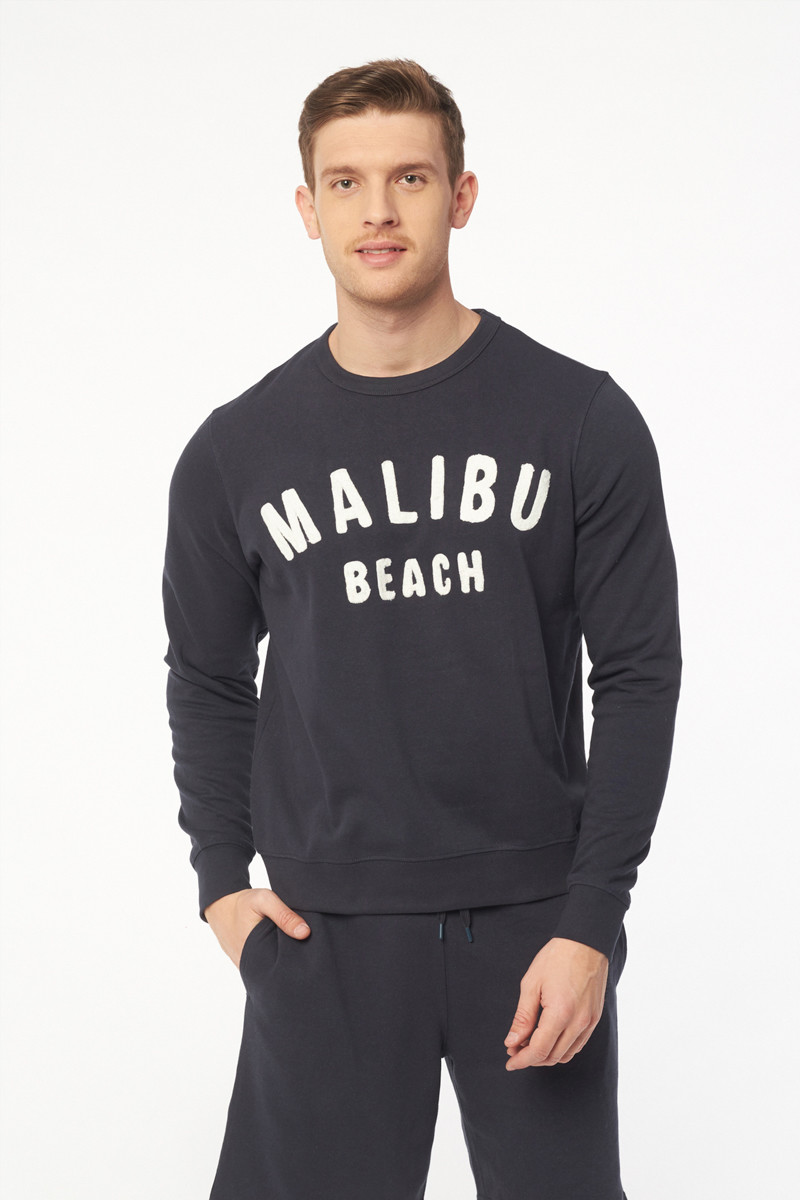 Sweat bleu marine Malibu