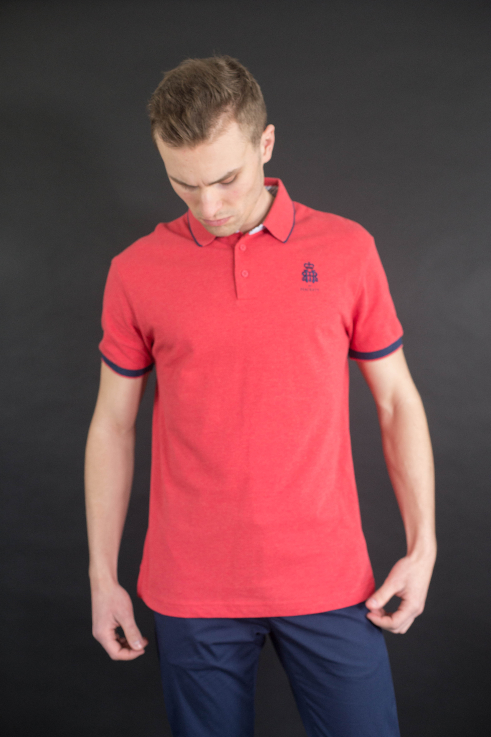 Polo rouge cancan Hackett London