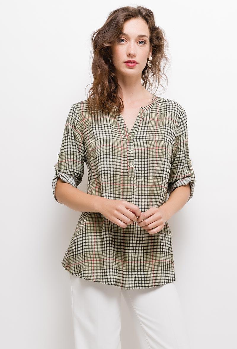 christy-blouse-a-carreaux3-olive-1