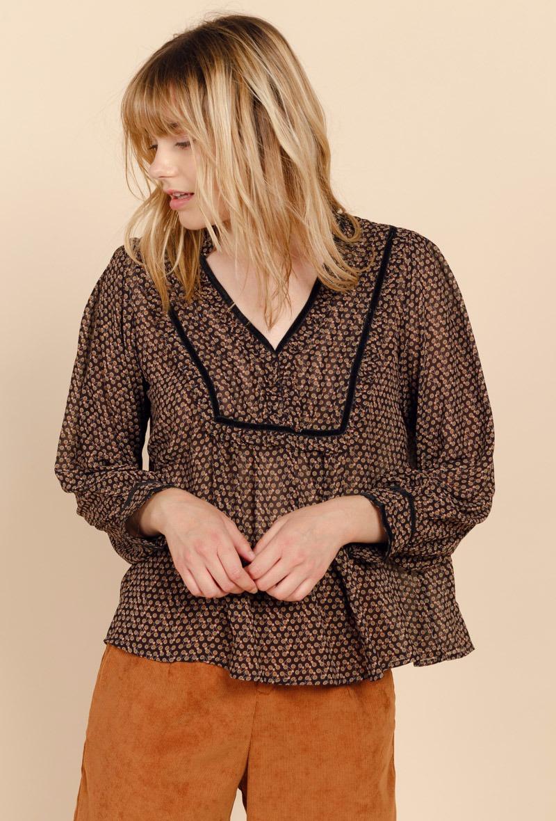 sweewe-blouse-motif-graphique-black-1