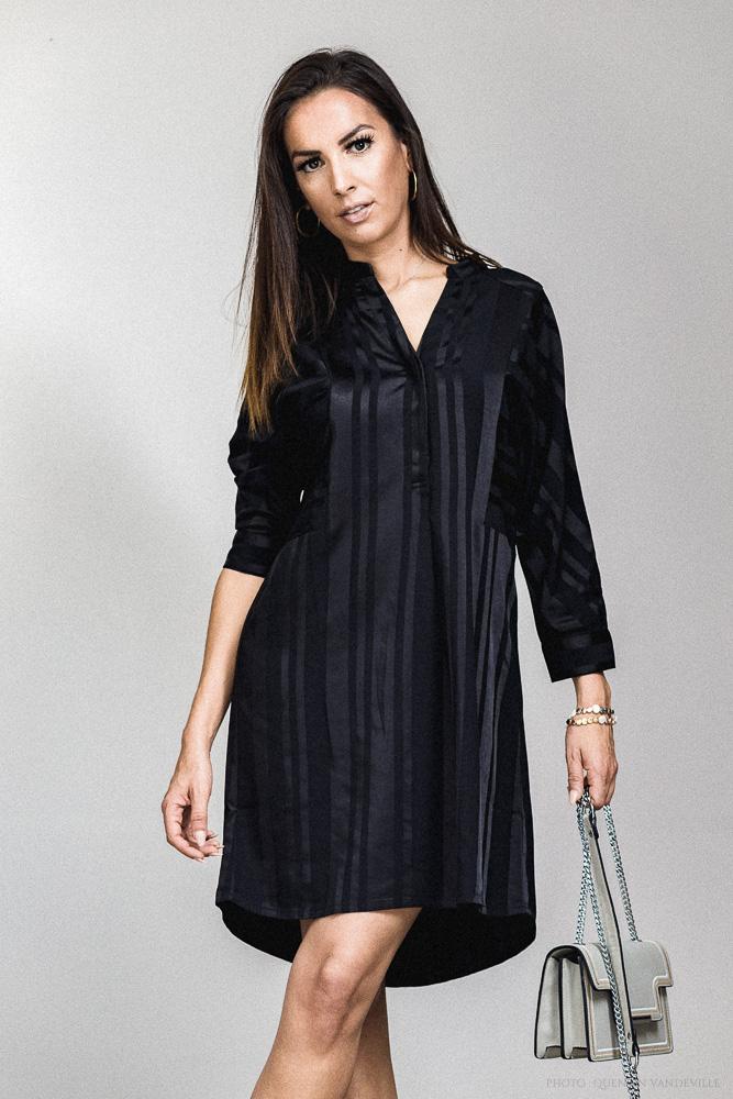 Robe noir Suncoo Cassie