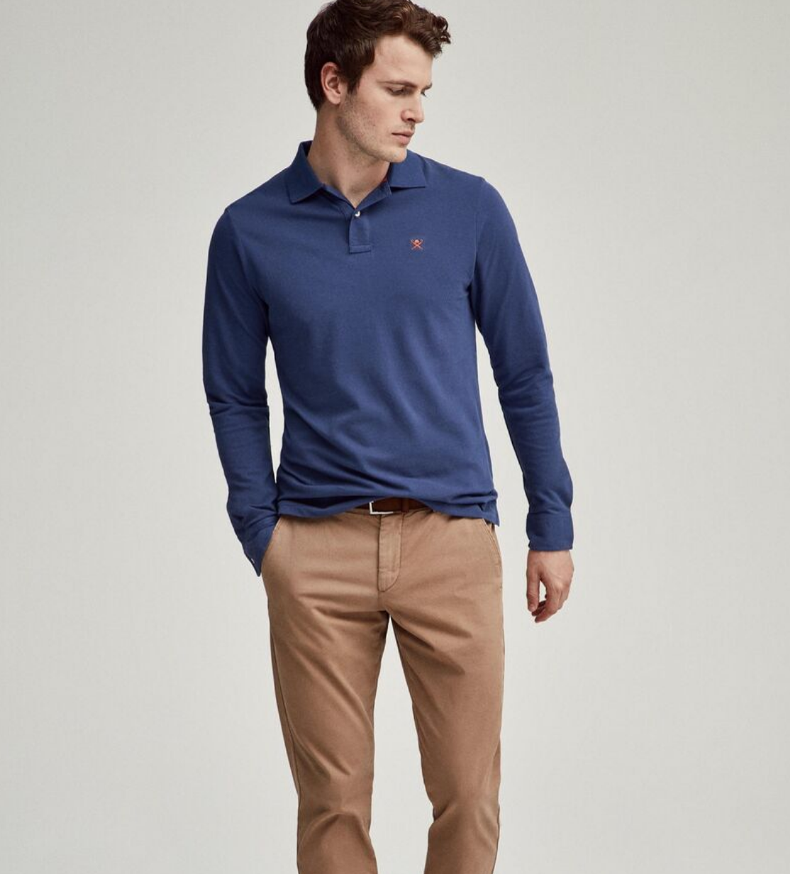 Polo manche longue Hackett London