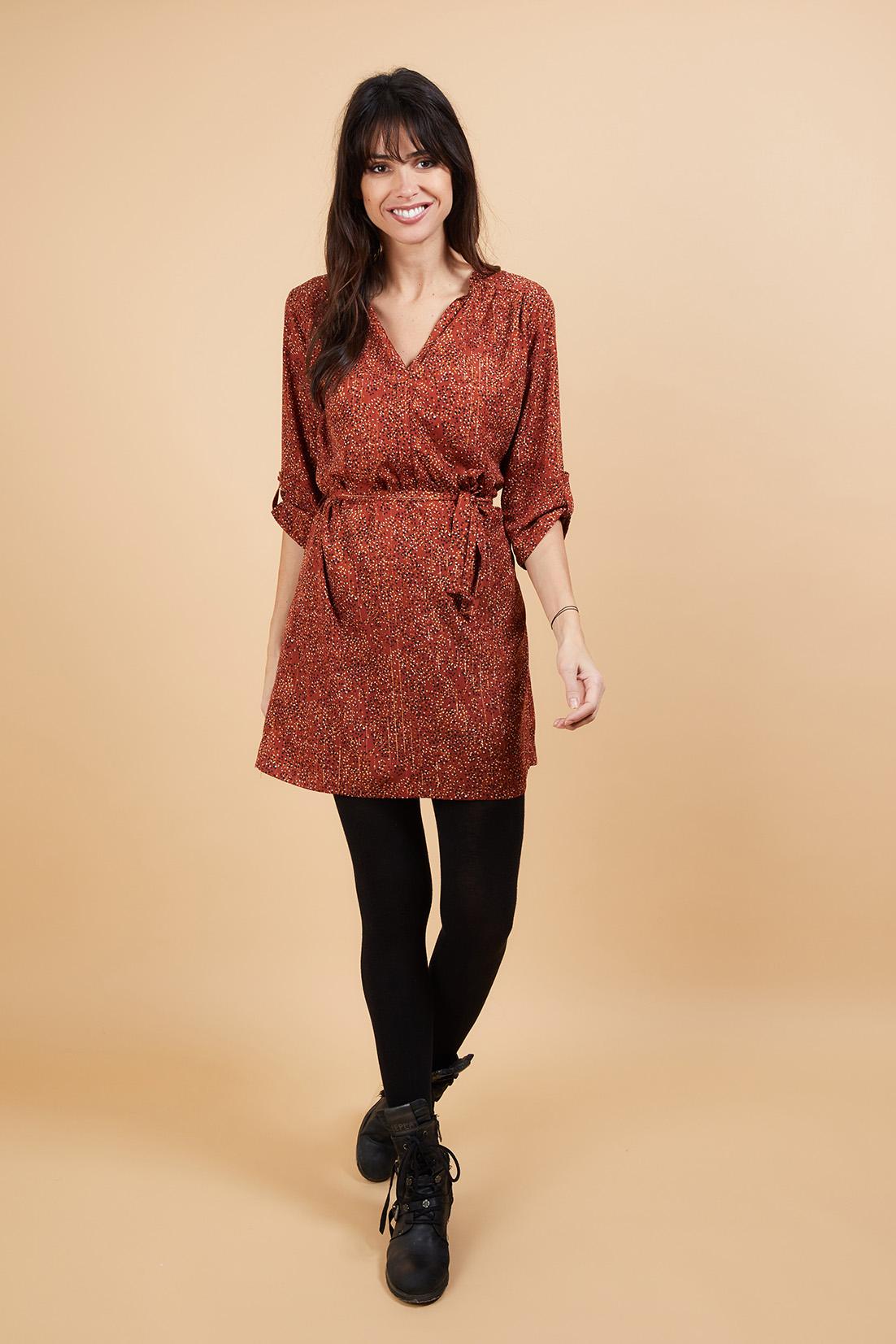 Robe BAYONNE Rust 2
