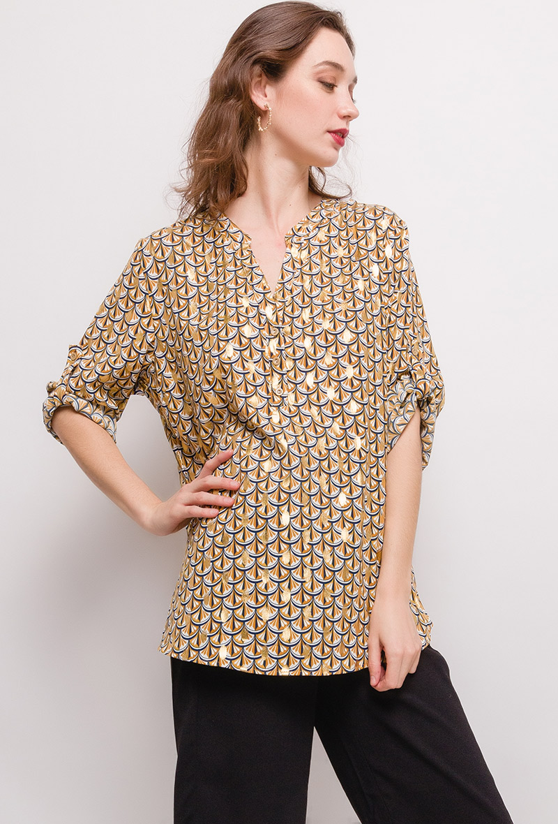 christy-blouse-imprimee50-mustard-1