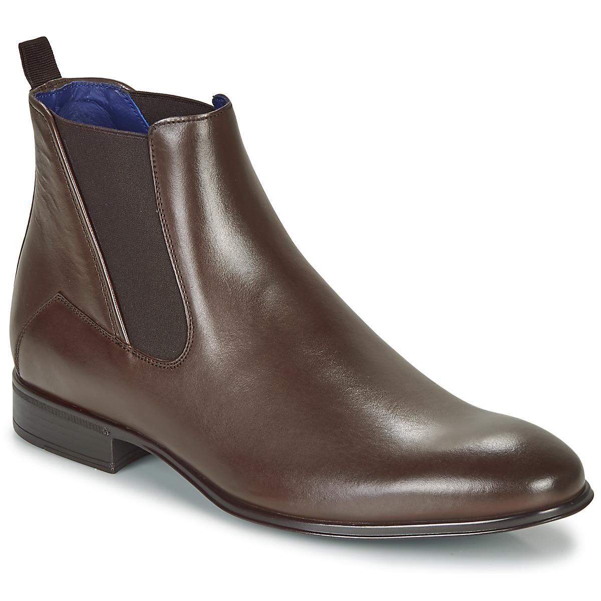 Boots Tardif chataigne - Azzaro Homme