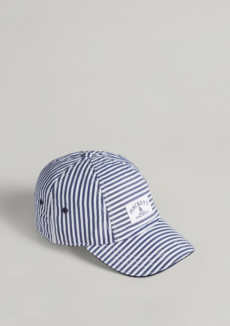 Casquette Henley Regatta - blanc/bleu navy - à rayure - HACKETT LONDON