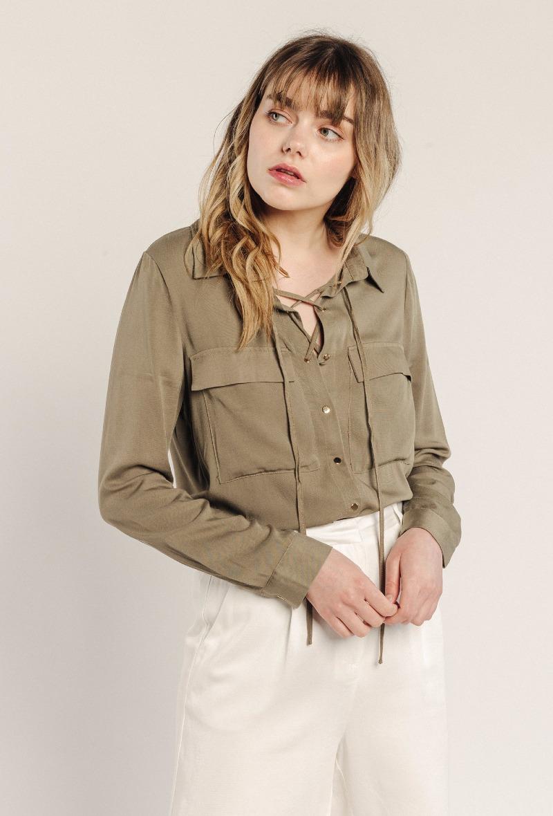 sweewe-chemise-col-lavalliere-kaki-3