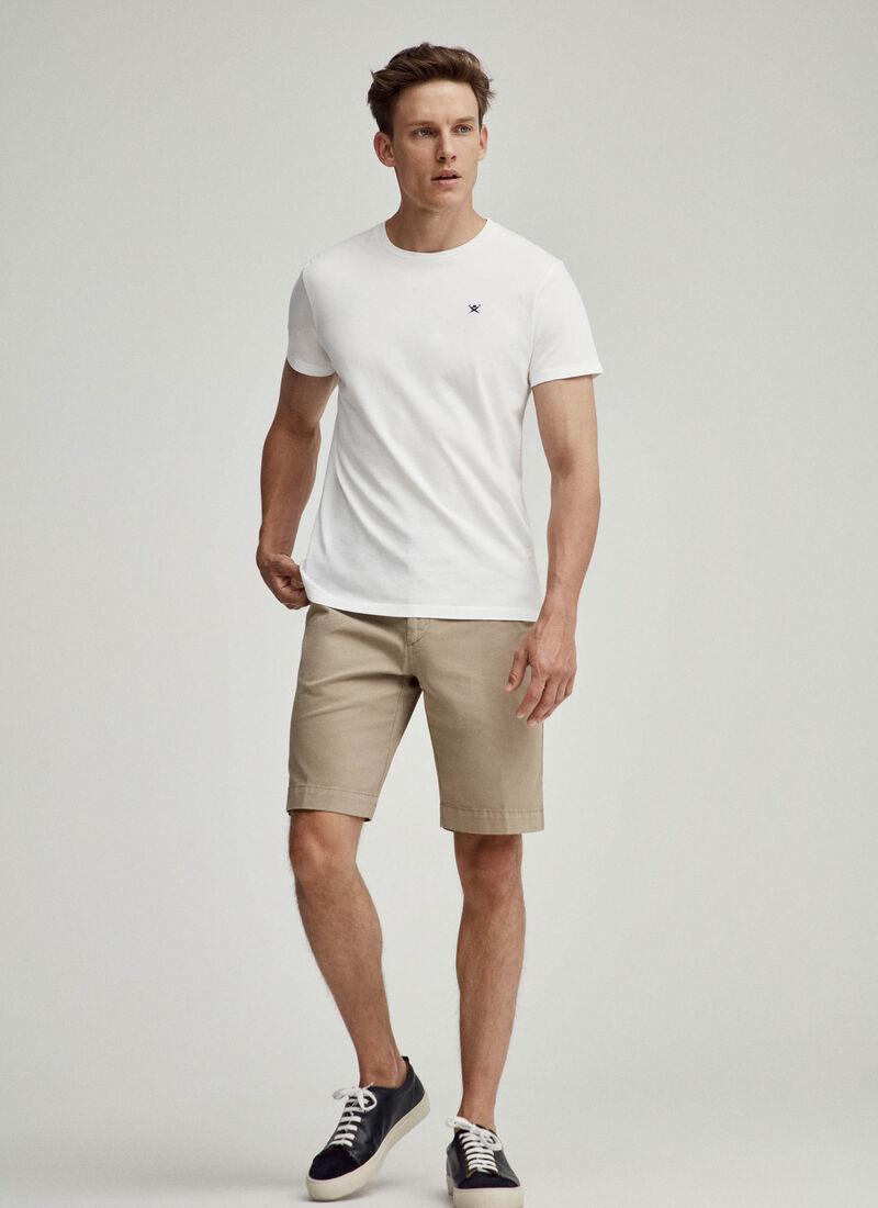 Tee shirt logo - Blanc - Hackett London