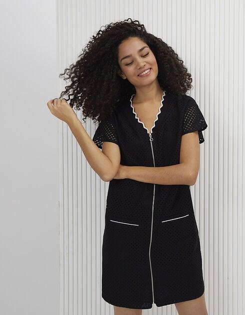 Robe zippée - noir - I.Code