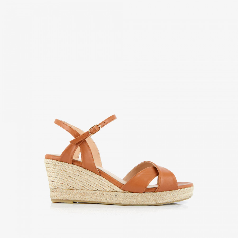 ESPADRILLE HELISA - CAMEL - Mellow Yellow