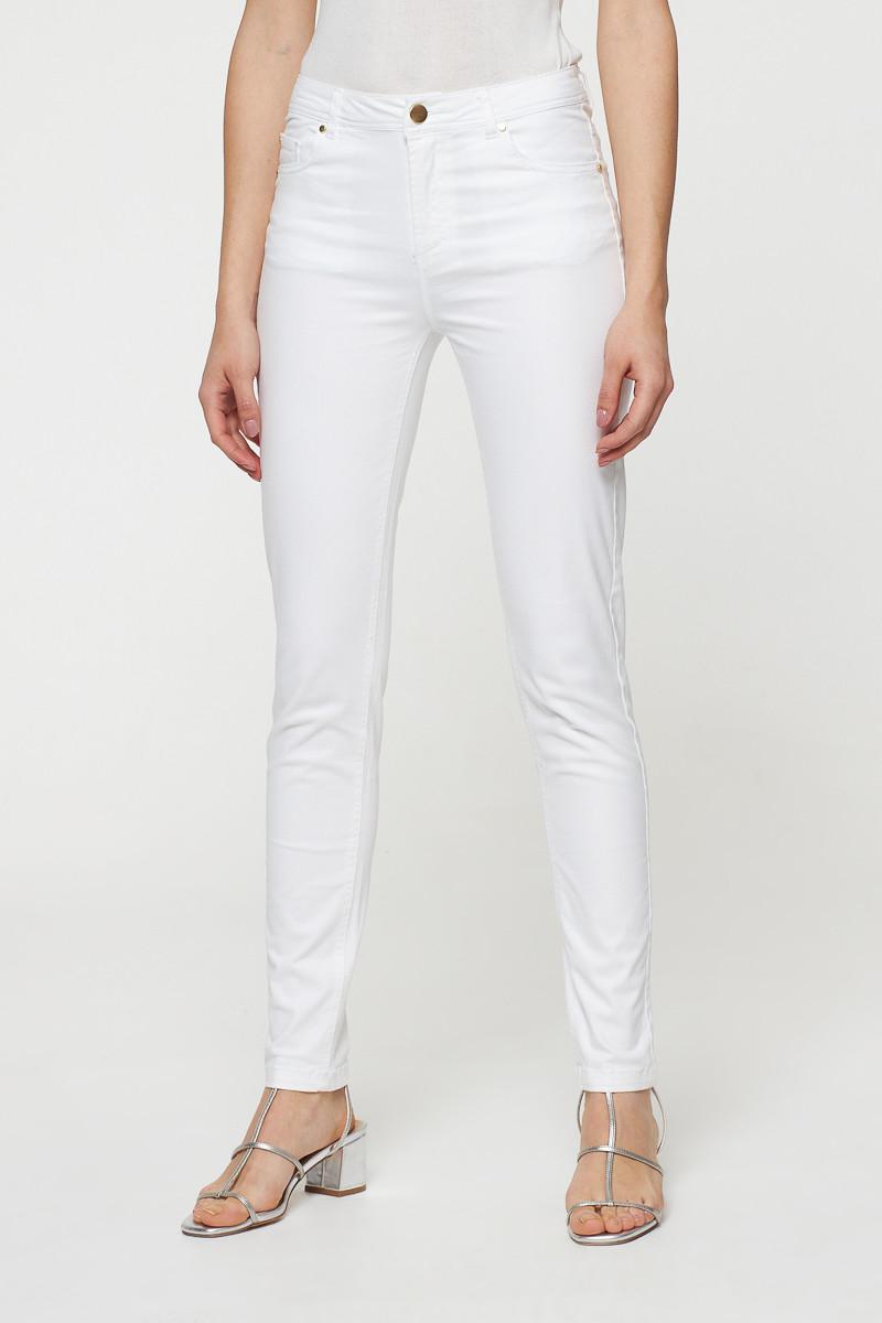 Pantalon blanc - slim taille haute - Best Mountain