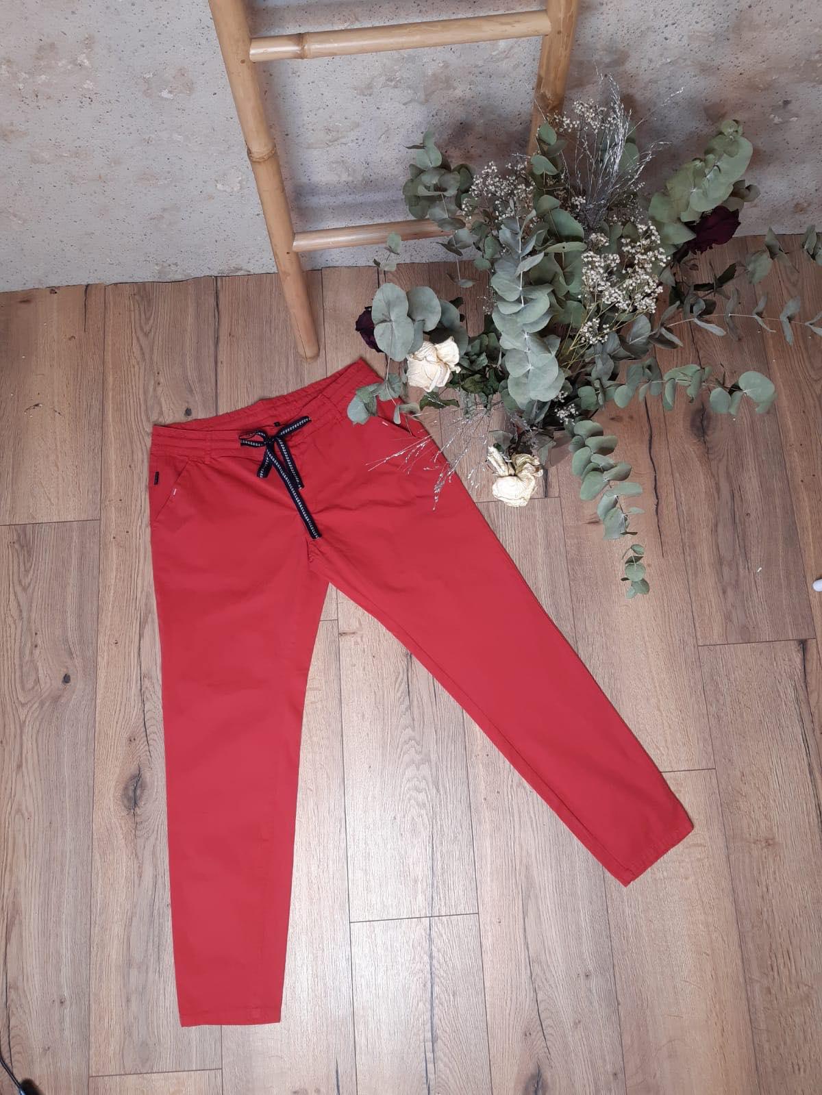 Pantalon d\'été - rouge - Sun Valley