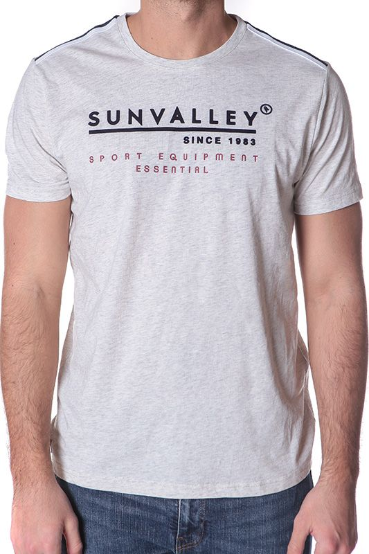 Tee shirt Cavour - Gris perle - Sun Valley