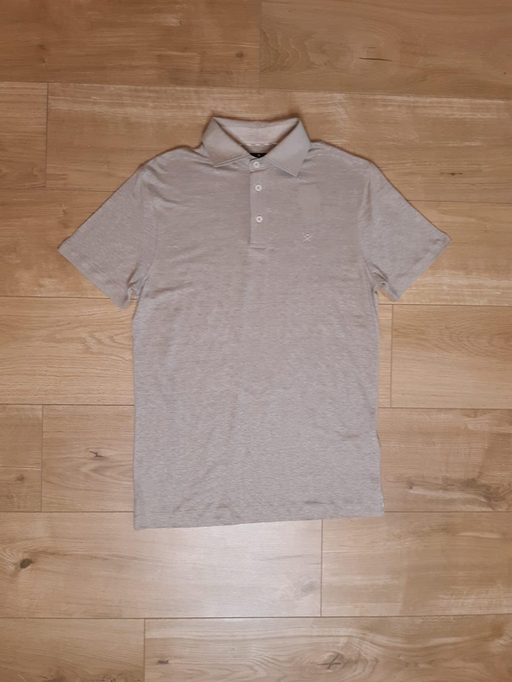 Polo en lin - beige - Hackett London