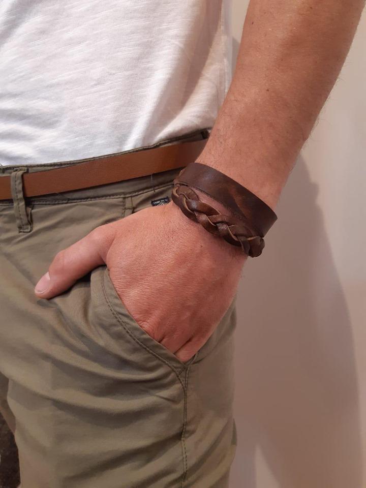 Bracelet Tressé - marron - Petrol Industries