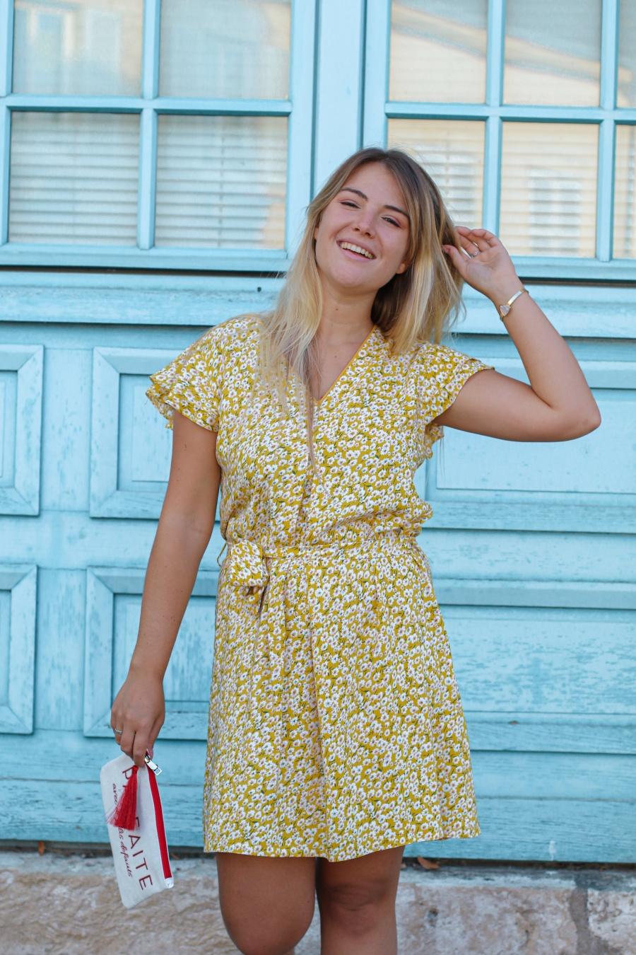 Robe jaune - Petunia - MAMOUCHKA