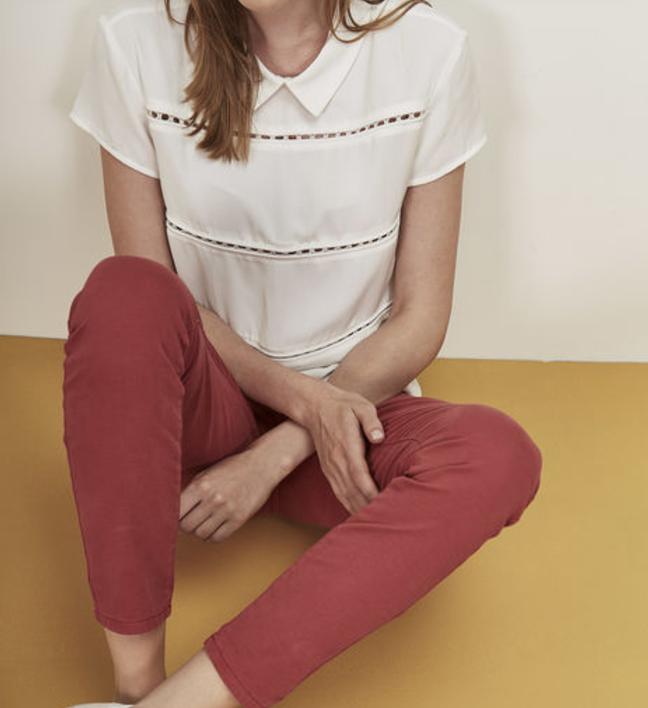Pantalon rose pour femme