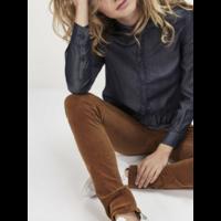 Pantalon velours femme