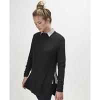 Pull gris I.Code