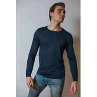T-shirt en coton Ralph Lauren Marine Logo Rouge