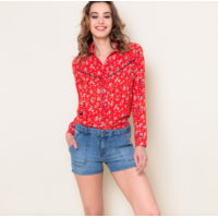 Chemise JEANNE red