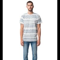 T-shirt Imprimé Ethnique BLEU