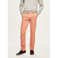 Pantalon chino en coton élastique orange HACKETT