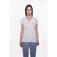 Tee shirt femme APOLKY blanc sun valley