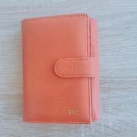 Portefeuille femme orange