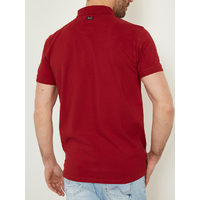 POLO UNI ROUGE PETROL