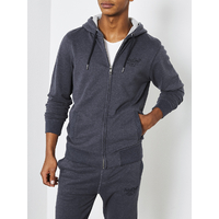 Sweat Petrol zip marine