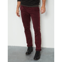 Chino Bordeaux homme