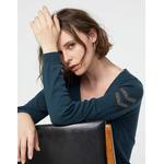 IKKS-PULL MAILLE TRICOT PRUSSE BIJOUX ESPRIT MILITAIRE FEMME-BR18065-58_1