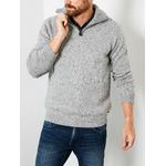 M-3000-KWC242 - Knitwear Collar 9038 Light Grey Me 2