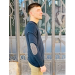 PLW2998H PULL RDC AVEC COURDIERE NAVY 2