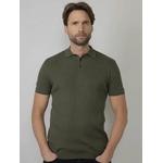 M-1010-KWC200 - Knitwear Collar 6093 Dark Army  1